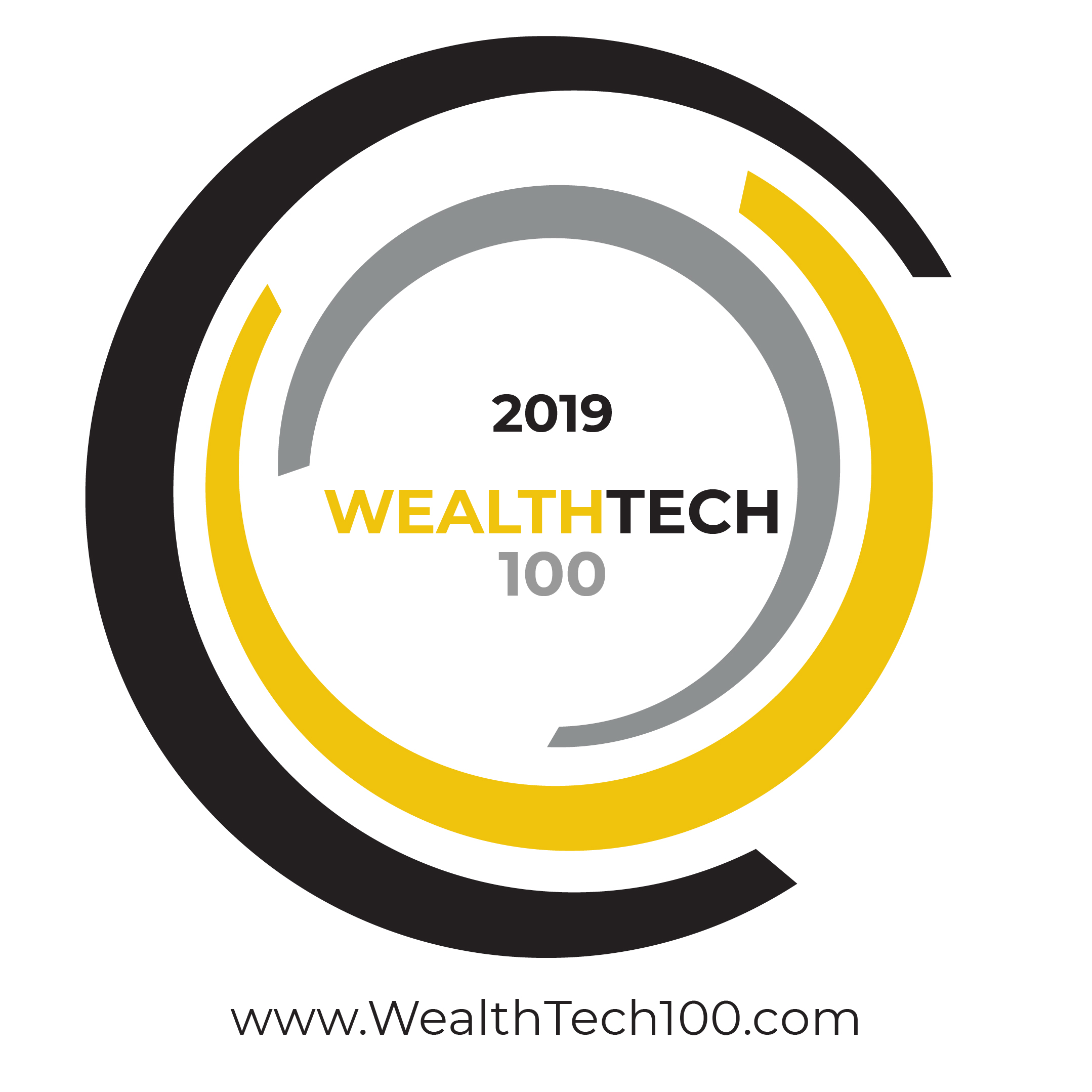 WealthTech100 Badge