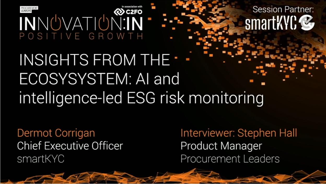 AI: monitoring ESG risk